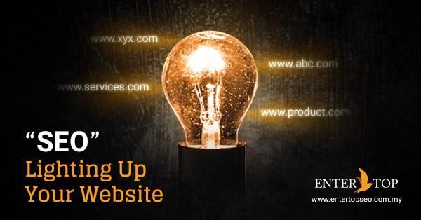 SEO light up website