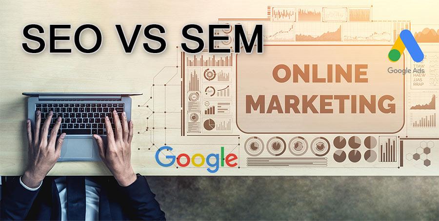 seo & sem comparison